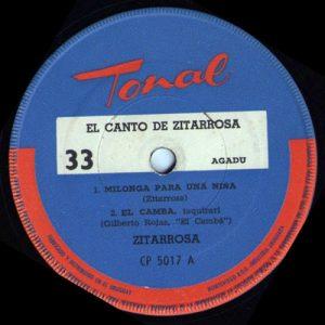 Alfredo Zitarrosa: El canto de Zitarrosa (1965)