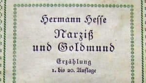 Hermann Hesse: Narciso y Goldmundo (1930)