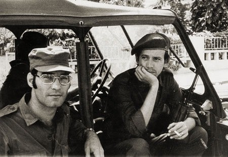 Silvio Rodríguez y Vicente Feliu