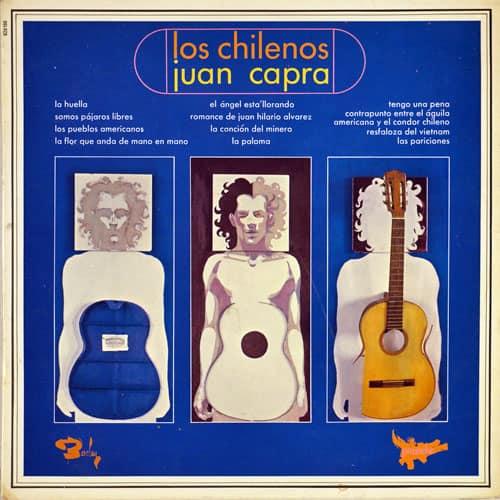 Juan Capra y Quilapayún: Los Chilenos – Juan Capra (1968)