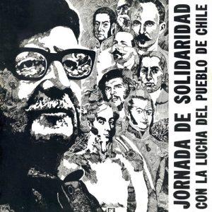 Obra colectiva: Jornada de solidaridad con la lucha del pueblo de Chile (1974)
