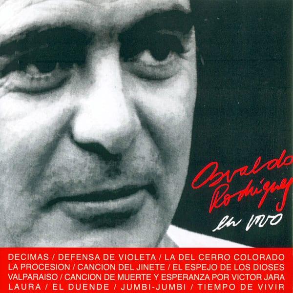 """Osvaldo """"Gitano"""" Rodríguez: En vivo (1990)"""