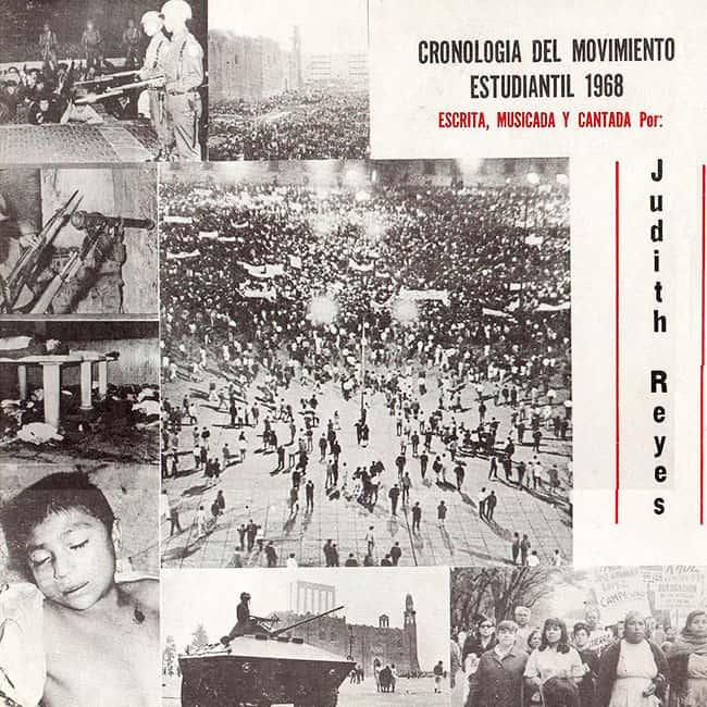 Judith Reyes: Cronología del Movimiento Estudiantil 1968 (1974)