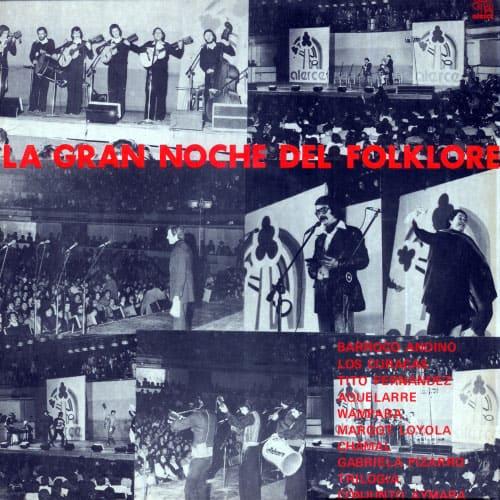 Obra colectiva: La gran noche del folklore (1977)
