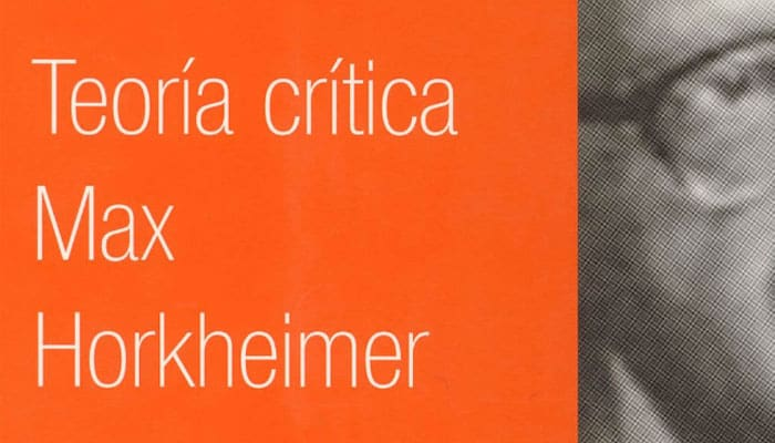 Max Horkheimer: Teoría crítica (1968)