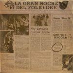 Obra colectiva: La gran noche del folklore, Vol. 2 (1978)