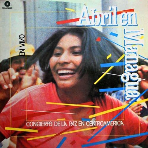 Obra colectiva: Abril en Managua. Concierto de la paz en Centroamérica (1984)
