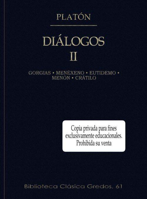 Platón: Diálogos II