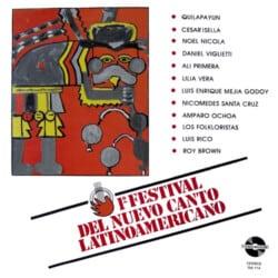 Obra colectiva: Primer Festival del Nuevo Canto Latinoamericano (1984)