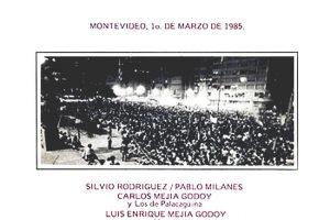 Obra colectiva: Montevideo, 1° de marzo de 1985 (1985)