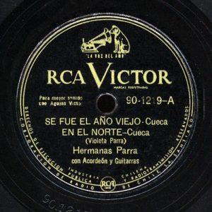 Hermanas Parra: RCA Victor 90-1219 (1952)