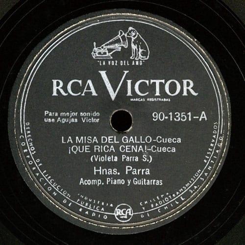 Hermanas Parra: RCA Victor 90-1351 (1953)