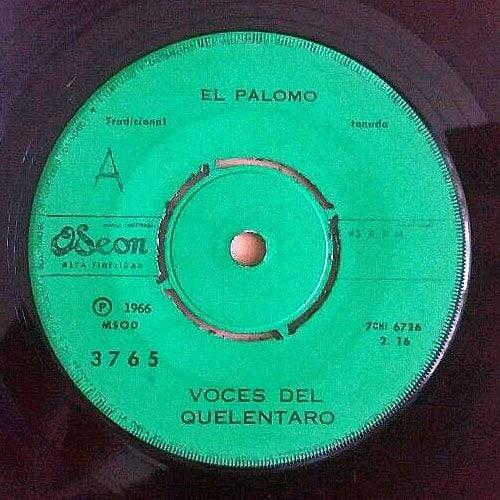 Conjunto Quelentaro: Odeón MSOD 3765 (1966)