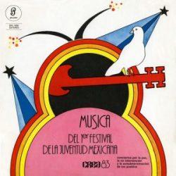 Obra colectiva: Música del Primer Festival de la Juventud Mexicana - CREA 1983 (1985)