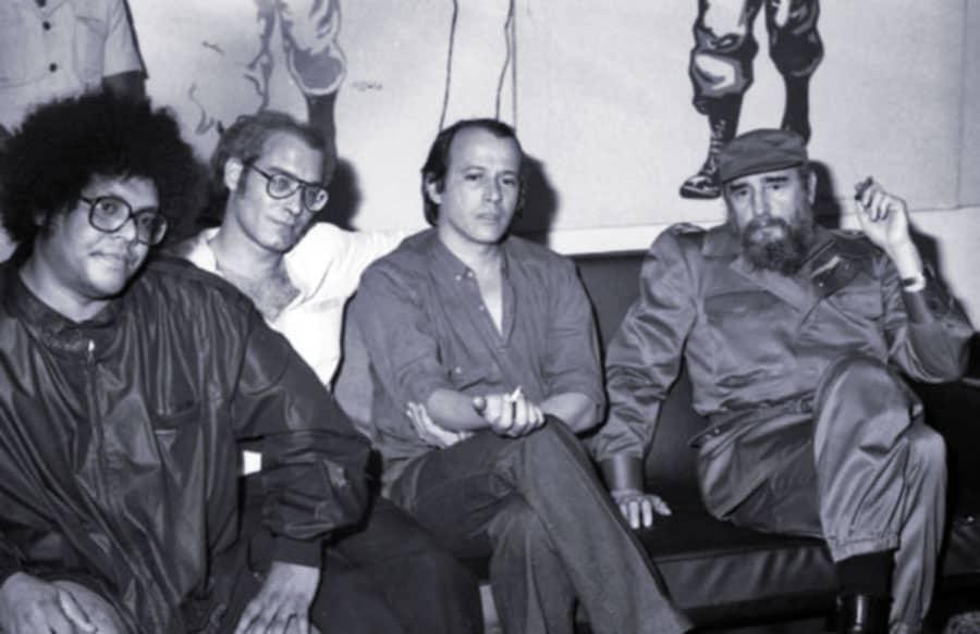 Pablo Milanés - Vicente Feliú - Silvio Rodríguez - Fidel Castro