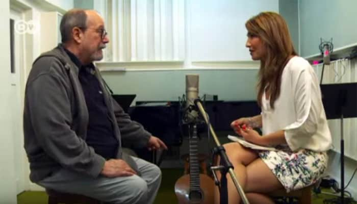 """Silvio Rodríguez a la TV alemana: """"Mi música no fuera lo que es sin la revolución, ni mis palabras fueran lo que son sin la revolución"""""""