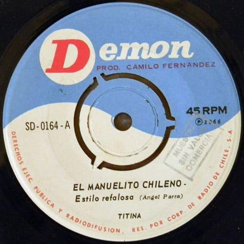 Tita Parra: Demon SD-0164 (1966)