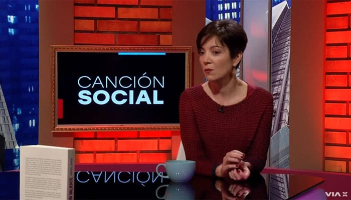 """Entrevista a Marisol García, autora del libro """"Canción valiente""""   Video"""