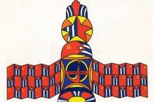 Obra colectiva: Vuelo espacial conjunto (1980)