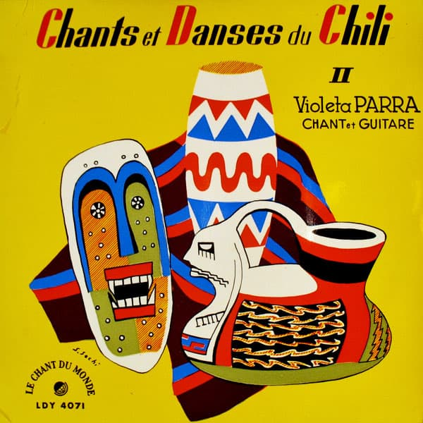 Violeta Parra: Chants et danses du Chili II (EP) (1956)