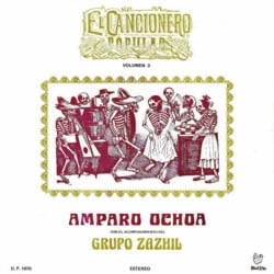 Amparo Ochoa: El cancionero popular volumen 3 (1986)