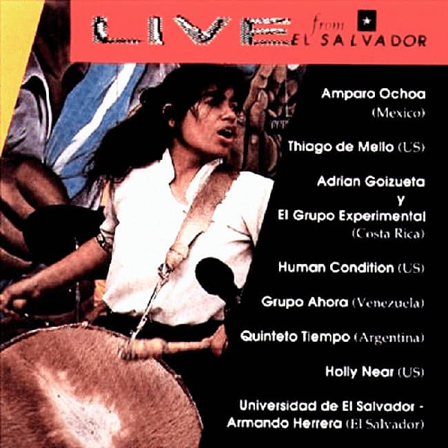 Obra colectiva: Live from El Salvador (Primer Festival 'Un Canto por la Paz con Soberanía e Independencia en El Salvador') (1991)