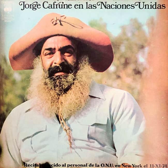 Jorge Cafrune: Jorge Cafrune en las Naciones Unidas (1976)