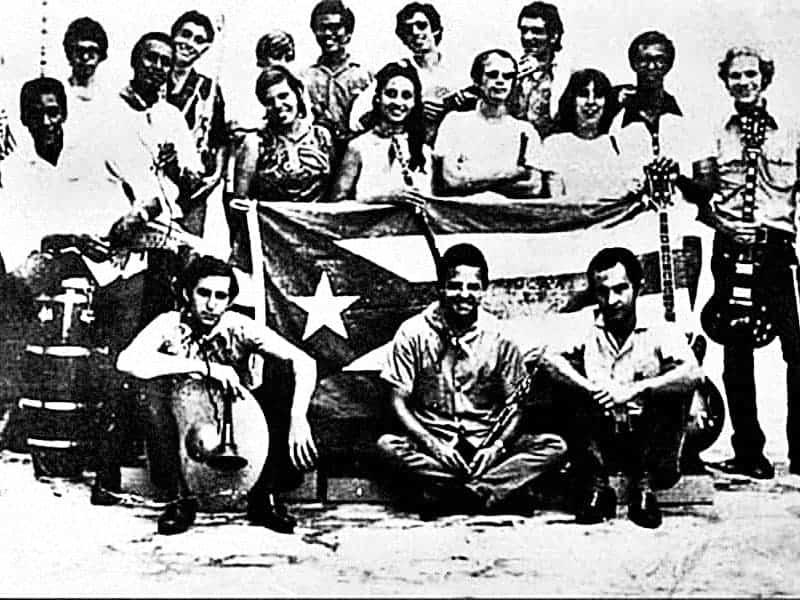 Discografía del Grupo de Experimentación Sonora del ICAIC (GESI). Todos sus álbumes: discos individuales, aparición en discos colectivos, colaboraciones y más.